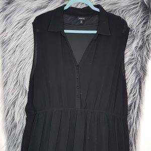 Torrid Button Short Sleeve Dress